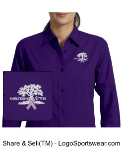 Ladies easy care 125th anniversary shirt Design Zoom