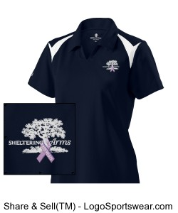 Ladies Laser Coaches Polo by Holloway Design Zoom