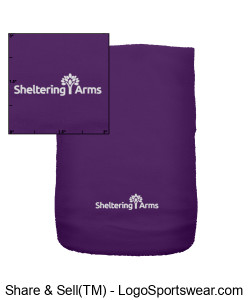 Sheltering Arms Fleece Scarf Design Zoom